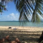                    Private beach at Thong Yang
