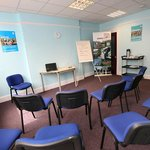 Our meeting room is available for meetings and small training courses