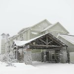 Soaring Eagle Lodge on a perfectly snowy day!