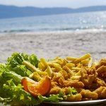  almuerzo en la playa