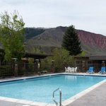  Pool With Red Mountain View