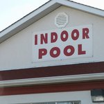 Pool Sign Outside