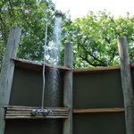                    Outdoor Shower in Room #3