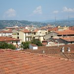                    View from rooftop terrace at Plus Florence
