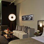 Industrial Chic Guest Rooms