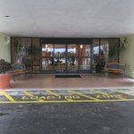                    Entrance to lobby