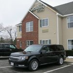  Parking in front of CrestHIll Suites.