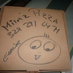                    all is Hand made inkl. Pizza box