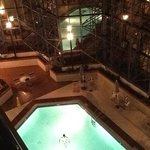                    View of pool from 5th floor outside balcony