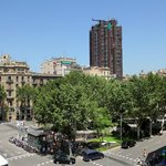  Vistas desde los balcones del Hostal Fontanella, (Plaza U