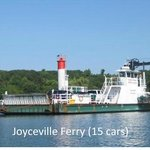 Joyceville Ferry to Howe Island (15 cars)