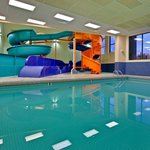 Swimming Pool and Waterslides