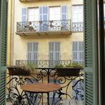                    our petit balcon