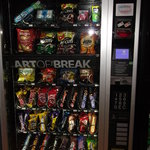 snacks vending machine on ground floor.