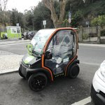 Electric car from Sight Sintra