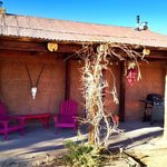                    Exterior View of the Fite Ranch B&amp;B Bunkhouse (guest rooms are in the Bunkhous
