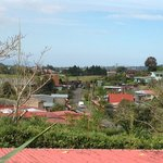                    View of town from hotel grounds