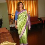 Guest in Saree
