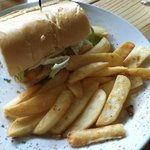 Shrimp PoBoy w/Steak Fries