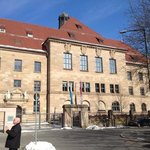 palace of justice in Nuremberg.