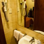 Twin room interior - bathroom