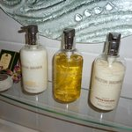 Luxury toiletries