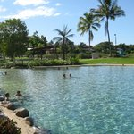 Lagoon downtown Airlie Beach