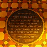 Visit by Pope John Paul II