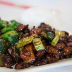 Szechwan Pepper Chicken and Beef with Fresh Broccoli