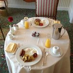  The Grand American Breakfast in room dinning option