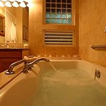 Relax in your Jacuzzi tub