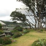                    View of bay from verandah