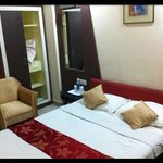 ample standard bedroom size - clean and working air con
