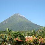                    Arenal from our room