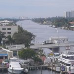                                      Beautiful panoramic view of Waterway Draw Bridge