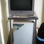 tv and fridge furniture