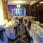                                      The dining room set up for 60th Birthday Party