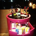 "In room ""mini"" bar"
