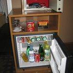                    Minibar (cmete un kinderbueno y paga 5 eurillos, eso si)