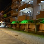  Hotel and Restaurant at night