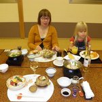 Even kids enjoy kaiseki