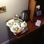 Ample tea/coffee facilities & biscuits