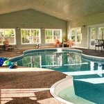                    Start your day with a salt water swim in indoor pool