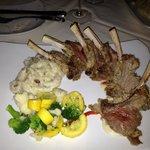 Half rack of lamb--mmm!!