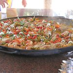                    paella  la plage