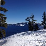 Crater Lake, Feb. 2013