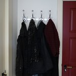 good place to hang coats in room
