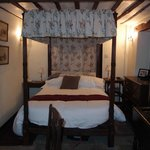 Four Poster bed in Room 12 - very comfortable