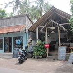                   Warung Enak from the street