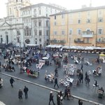 Piazza Navona from Room 2